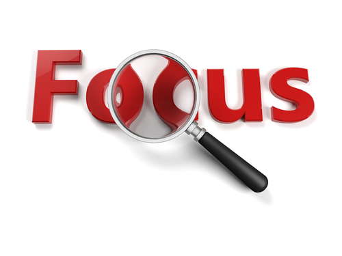 Focus: Is Yours Helping or Hindering You?  [Audio Biz Tip]