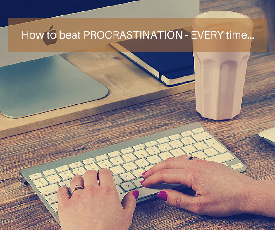 How to Beat Procrastination – EVERY time [Audio Biz Tip]