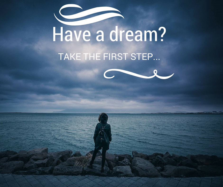 Have a dream? Take the first step… [Audio Biz Tip]