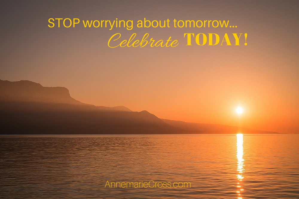 Why worrying about tomorrow is fruitless… [Audio Biz Tip]