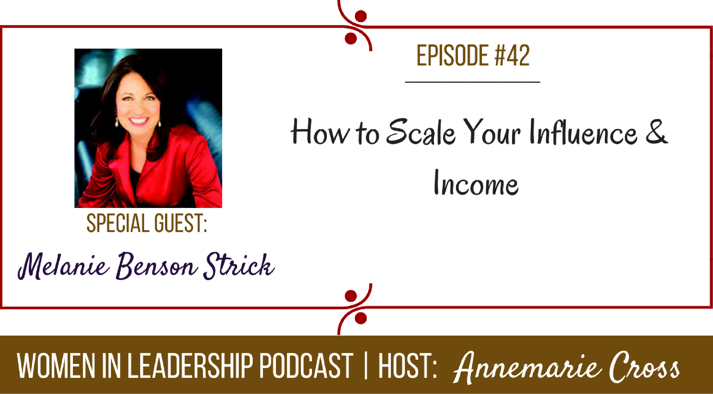 [Ep#42] How to Scale Your Influence & Income [podcast]