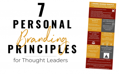 7 Personal Branding Principles to become Distinguishable, Uncopyable & Irresistible