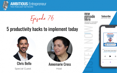 76: 5 productivity hacks to implement today