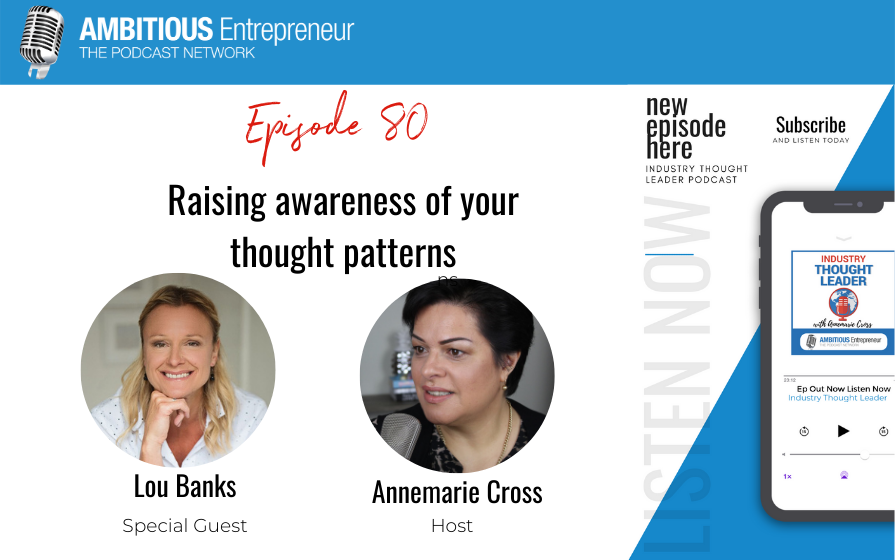 80: Raising awareness of your thought patterns