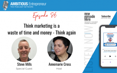 86: Think marketing is a waste of time and money – Think again